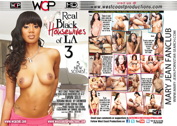 Mary Jean in Real Black Housewives Of LA 3 - Click here !